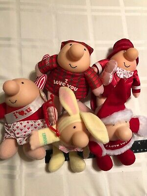 Vintage Ziggy By Tom Wilson Holiday 5pk Valentines Day Easter Xmas