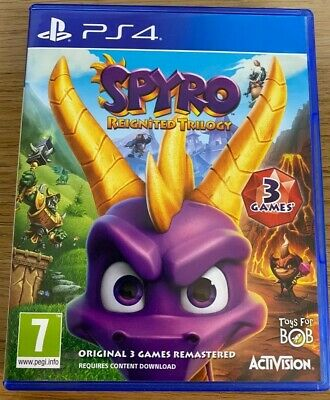 Spyro Reignited Trilogy on PS4 (PlayStation 4, 2018)