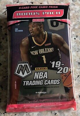 1x 2019-20 PANINI CONTENDERS NBA BASKETBALL SEALED FAT PACK - 22 CARDS PER PACK