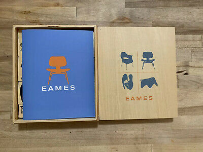 Eames Wooden Stamps Set Mid Century Modern