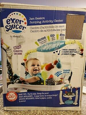 Evenflo Exersaucer Jam Session Jumping Activity Center **BRAND NEW**