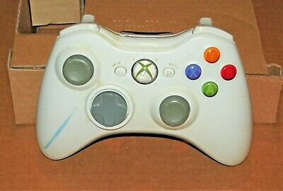 Official Microsoft Xbox 360 White Wireless Controller