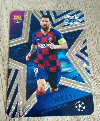 Topps Crystal Champions League 2019/20 Lionel Messi Limited Edition LE1 RARE