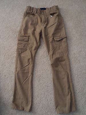 Debenhams BLUE ZOO STONE CARGO STYLE JEANS age 11-12 years excellent cond