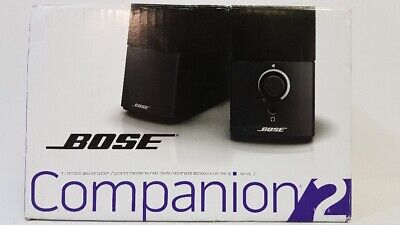 Bose Companion 2 Series III Multimedia Speaker System Black 354495-1100
