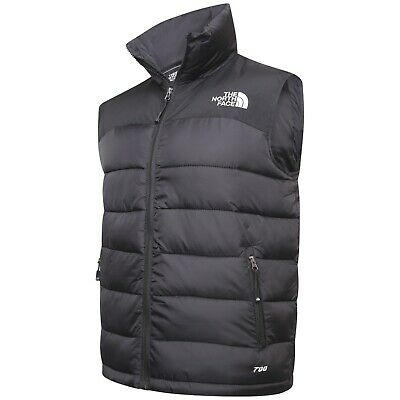 North Face 700 Body Warmer Gilet Black SMLXLXXL Clearance Sale