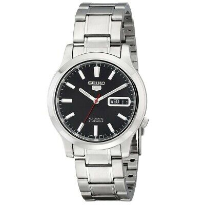 Seiko 5 Automatic Stainless Steel Black Dial Men's Watch SNK795K1 RRP £169