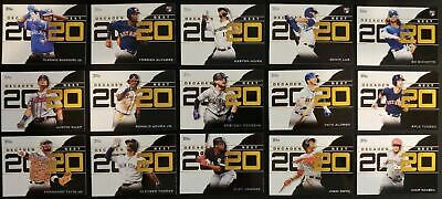 2020 Topps Series 1 DECADE'S NEXT INSERT You Pick From List $0.99 MAX SHIP