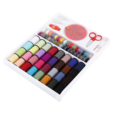 Sewing Kit Measure Tap Scissors Thimble Thread Needle Set Home Use Supplies HOT