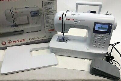 Singer Computerized LCD Display Programmable Professional 9100 Sewing Machine