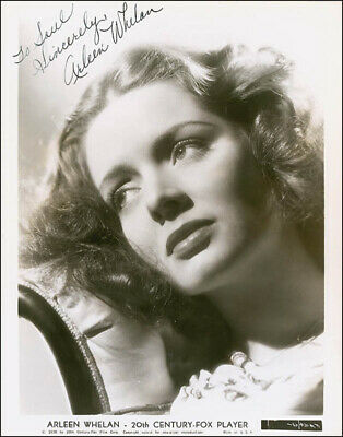 Arleen Whelan - Inscribed Photograph Signed Circa 1938