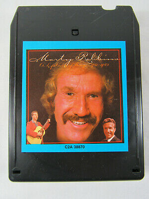 """A Lifetime Of Song 1951-1982"" by Marty Robbins  (8-Track Cartridge)"