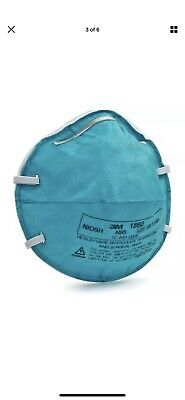 3M 1860 N95 Health Care Particulate Respirator Mask Size Adult - Pack of 5 Masks