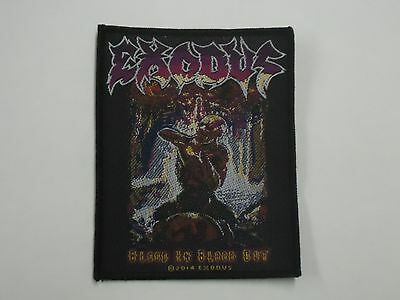 Exodus Blood In Blood Out Woven Patch