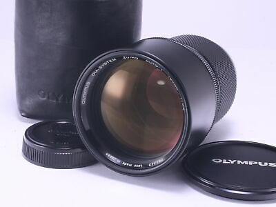 Excellent OLYMPUS Zuiko Auto-T 180mm F2.8 MF Telephoto Prime Lens From Japan