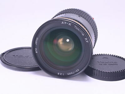 AS-IS Tokina AF 28-70mm F2.8 SONY Minolta α Mount AF Zoom Lens From Japan