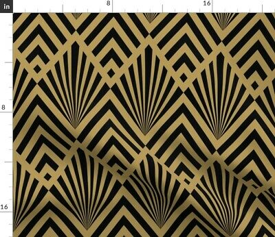 Art Deco 1920S Diamonds Home Decor 1920 Fabric Printed by Spoonflower BTY