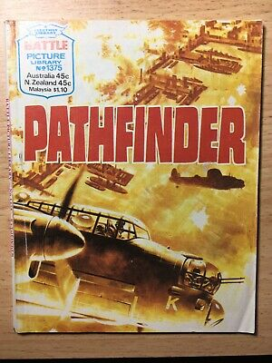 "1980 Fleetway Battle Picture Library Comic # 1375 ""Pathfinder""  Very Good Cond."