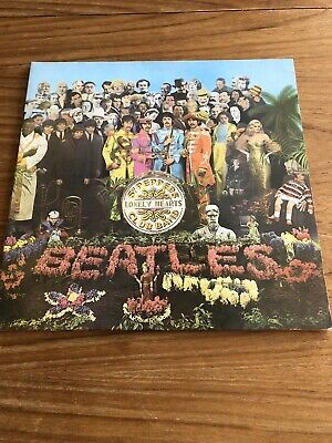 The Beatles - Sgt Pepper's Lonely hearts - Stereo - PCS 7027 1967 with insert