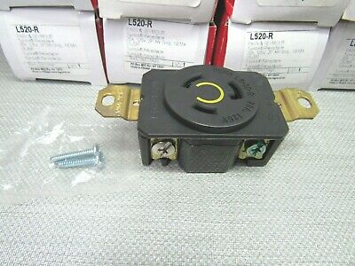 Pass & Seymour/Legrand L520-R Receptacle Lot of 12
