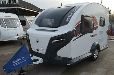 2018 - Swift Basecamp PLUS - 2 berth - Touring Caravan - Superb