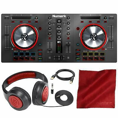 Numark Mixtrack 3   All-in-one Controller Solution with Virtual DJ LE Software D