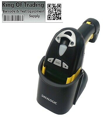 Psion Datalogic PowerScan M8300 Barcode Scanner w/ Desk/Wall Mount (Untested)