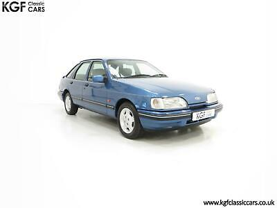 A Final limited-Edition Ford Sierra Azura 1.8 with Just 37,479 Miles from New