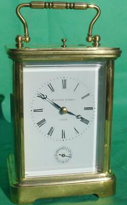 Mathew Norman 1751 Swiss Grande Corniche Striking Repeater Alarm Carriage Clock