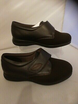 Ladies Cosyfeet size 7 extra roomy Karen Brown new