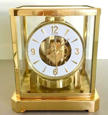 Jaeger Lecoultre Atmos Viii Perpetual Motion Vintage Swiss Table Clock 223467