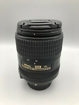 NIKON NIKKOR 18-300mm VR f/3.5-5.6 AS DX G SWM AF-S ED LENS (Read Description)