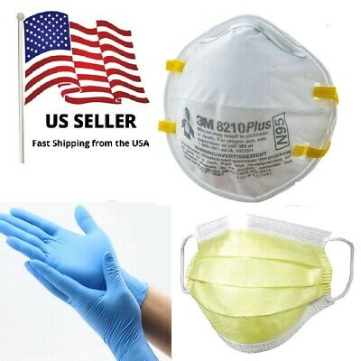 3M 8210V N95 Particulate Respirator Mask W/Exhalation Valve,1 MASK + EXTRA PACK