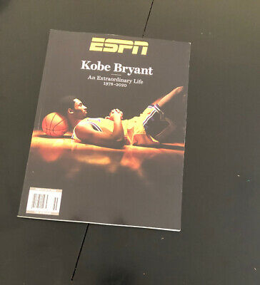 Kobe Bryant ESPN Special Edition Tribute Magazine 1978-2020 NEW