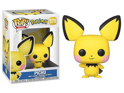 Funko POP - Pokemon Pichu with Pop Shield Protector ** PREORDER **