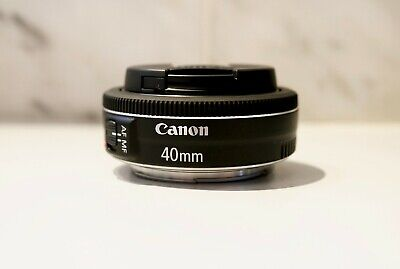 *MINT* Canon EF 40mm f/2.8 STM Lens (Used approx. 40 clicks)