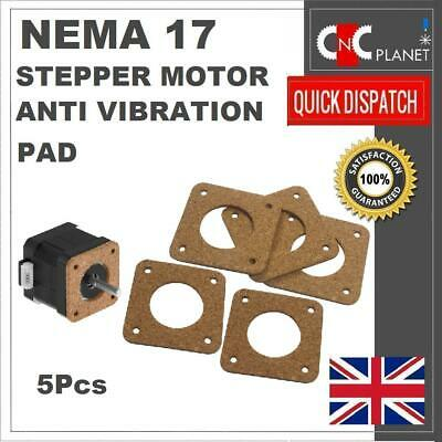 Nema 17 Stepper Motor 42mm Cork Gasket Shock Absorber Pad Anti Vibration 3D Prin