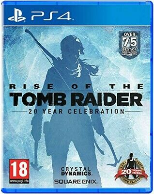 (Tomb Raider PS4 Bundle) Rise of the Tomb Raider and Shadow Of The Tomb Raider