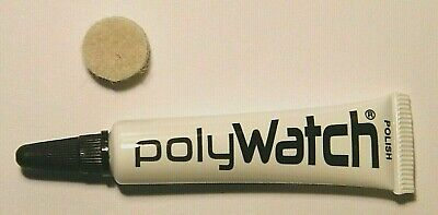 Polywatch Watch Glass Scratch Remover Polish Acrylic Plastic Watchmaker Tools
