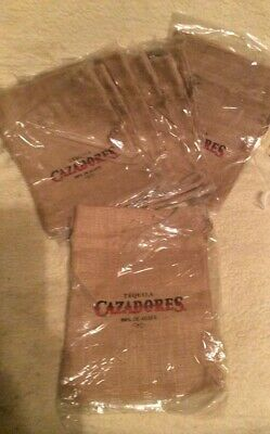 Cazadores Tequila Sand Bags or Tents or to hold down umbrellas set of 8