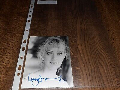 #Z147 Lucy Davenport(British Actress Gangs New York)Hand Signed Autograph Photo