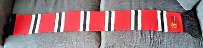 Manchester United Official Limited Edition Scarf Member 2016-2017 Season NEW