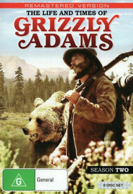 The Life and Times of Grizzly Adams Season 2 - Series DVD Excellent Condition