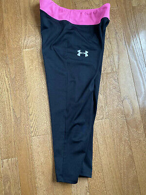 Under Armour Fitted Leggins Capri Length Girls Size Large