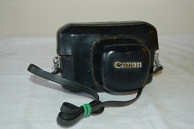 Canon-7 Vintage Rangefinder Ever Ready Case. Good Used Condition. #04. UK Sale