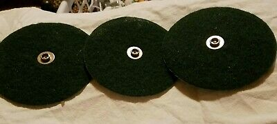 Electrolux Green Scrubb Pads with Metal Snap