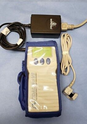 Respironics 610 Capnostat Patient Monitor with power adapter.