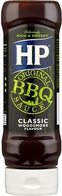 HP Classic Woodsmoke Barbecue Sauce (4x465g)