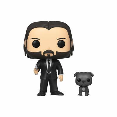 Funko Pop! Movies: John Wick in Black Suit with Dog Buddy 580 New
