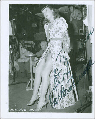 Barbara Stanwyck - Inscribed Photograph Signed